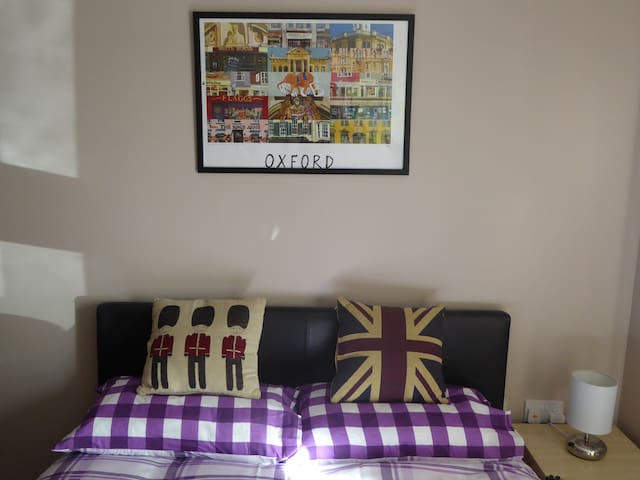 Double room with friendly hosts - Oxford - Apartamento