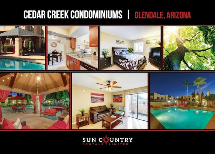 Cedar Creek Condominiums-Great Two Bedroom Condo!