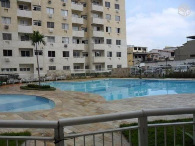 Fully furnished apartment. Pool grill gym sports - Duque de Caxias - Apartament