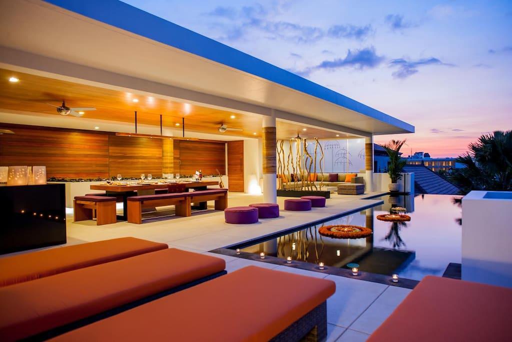 Villa muse seminyak 500 meters from beach villas for for 5 star villas