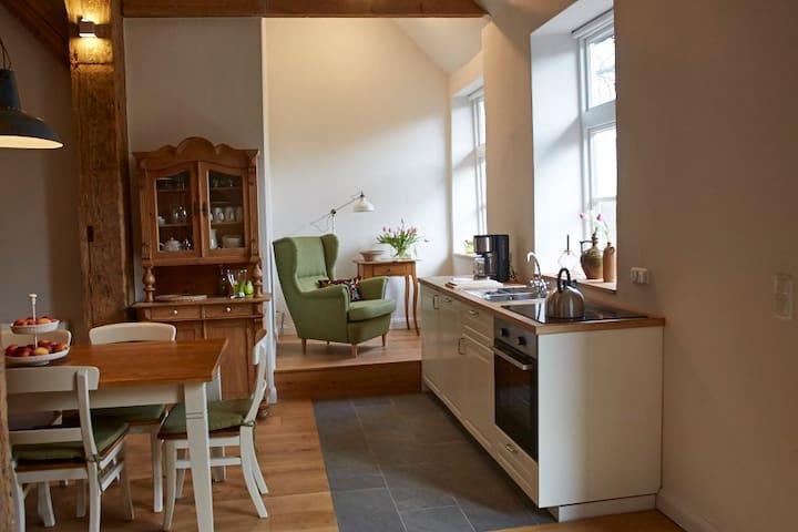 Wohnung Storchennest auf Hof Eggers - ฮัมบูร์ก - อพาร์ทเมนท์