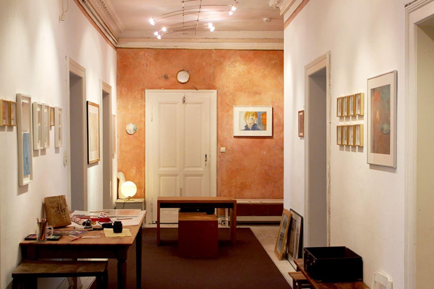 Schönes Zimmer in Künstler-WG