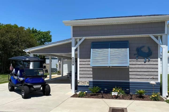 Beach House, FREE Golf Cart & FUN