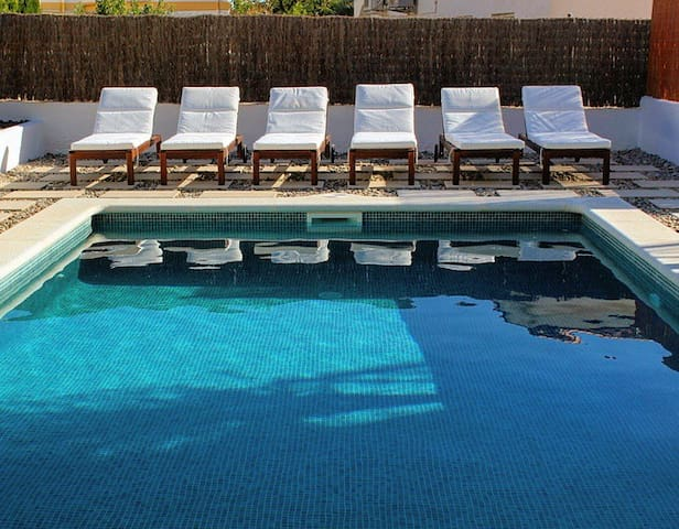 Our pool and louunging chairs
