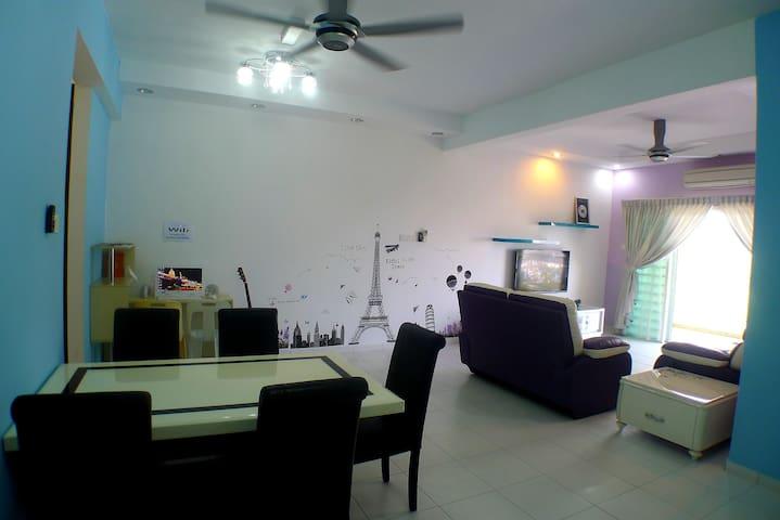 Penang Condo Homestay, Near SPICE(10 Pax) 槟城高级公寓民宿 - Bayan Lepas - Leilighet