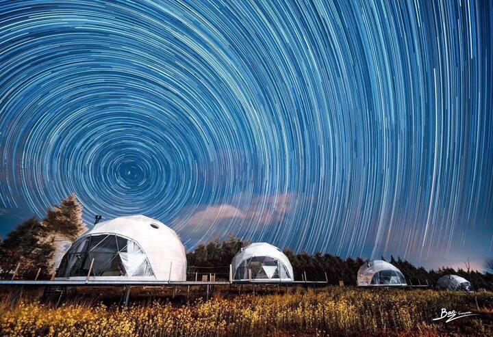 仙旅玉湖农庄星空帐篷营地,亲子房