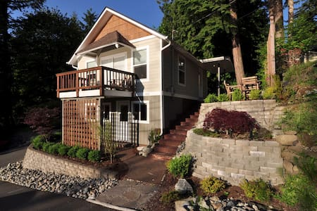 Blissful Serenity at Lake McDonald - Renton - Huis