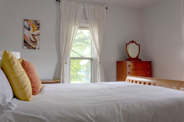 All our beds are made with bamboo bed sheets, which are incredibly soft to the touch. Bamboo bedding is also more comfortable than tradition bed sets because it is more breathable. Bamboo bedding is naturally hypoallergenic and antibacterial.