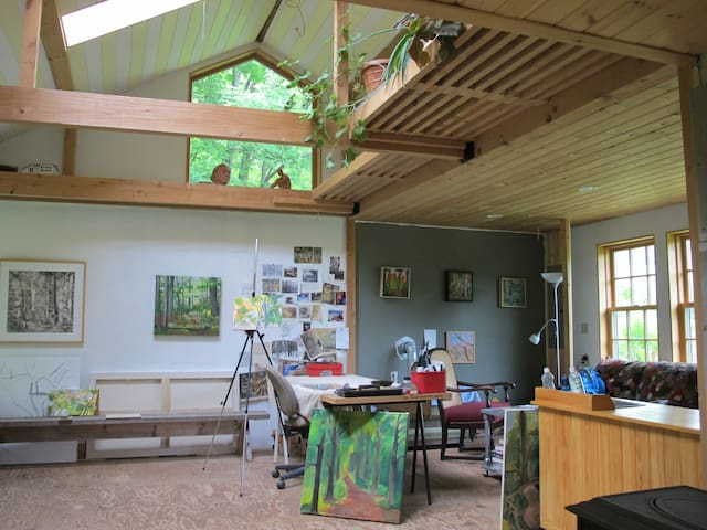 Catskills Forest Artists Studio - East Meredith - Rumah