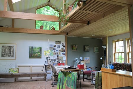 Catskills Forest Artists Studio - East Meredith