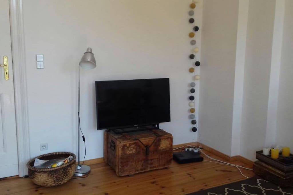 TV in Wohnküche