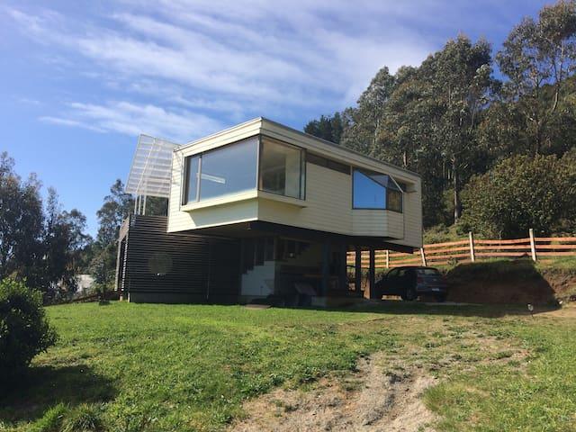 Casa de playa a 30 km de Valdivia.