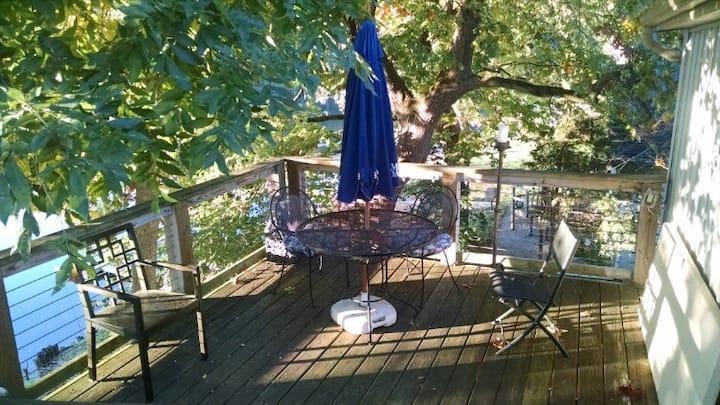 Delaware River Treehouse