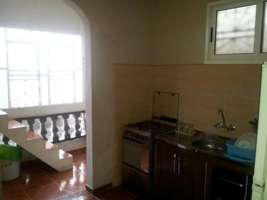 kitchen, terrace