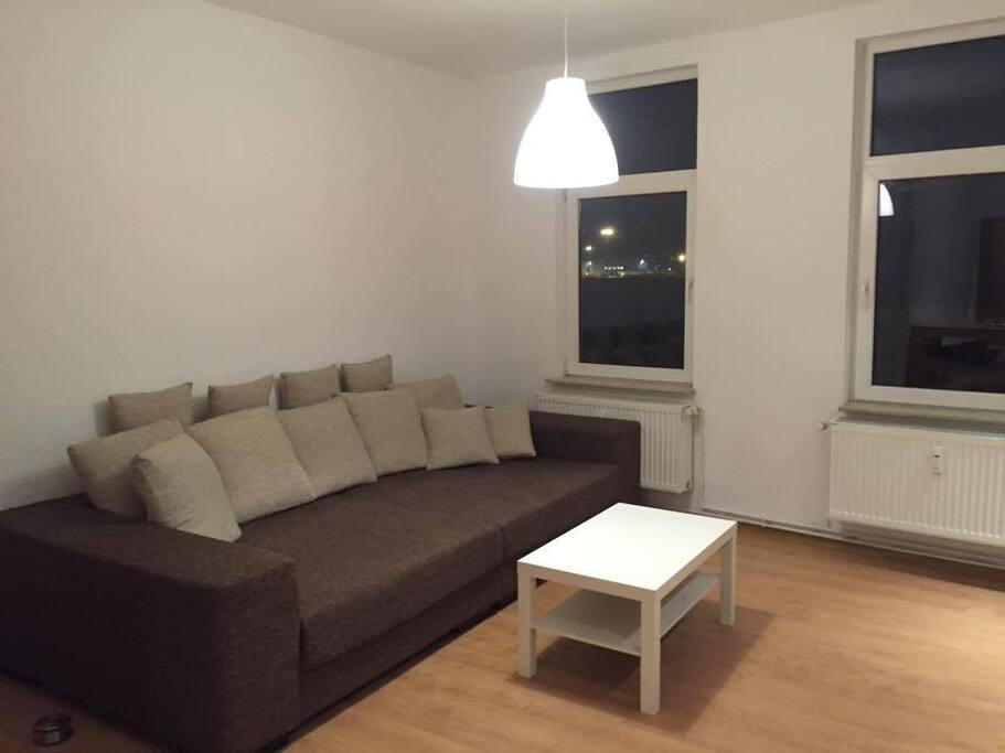 Bigsofa, Schlafplatz für 2 Personen.