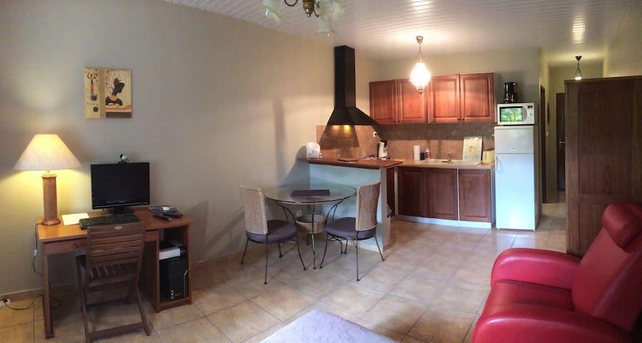 Studio meublé à Kourou (B) - Kourou - Apartment