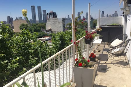 Stunning Apt in Palermo Soho with private terrace - Buenos Aires - Apartmen