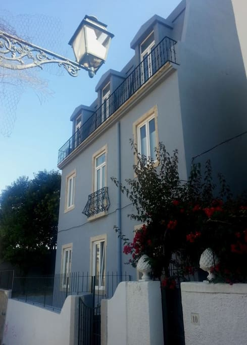 Beautiful typical Portuguese building
