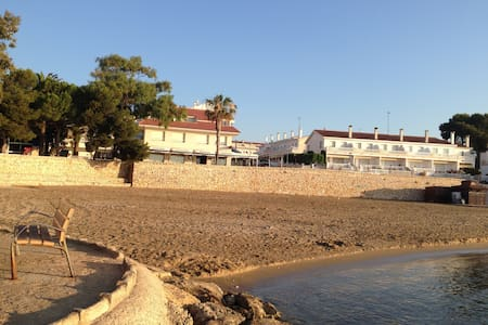 ORNIS only 10 meters from the Beach - Apartment