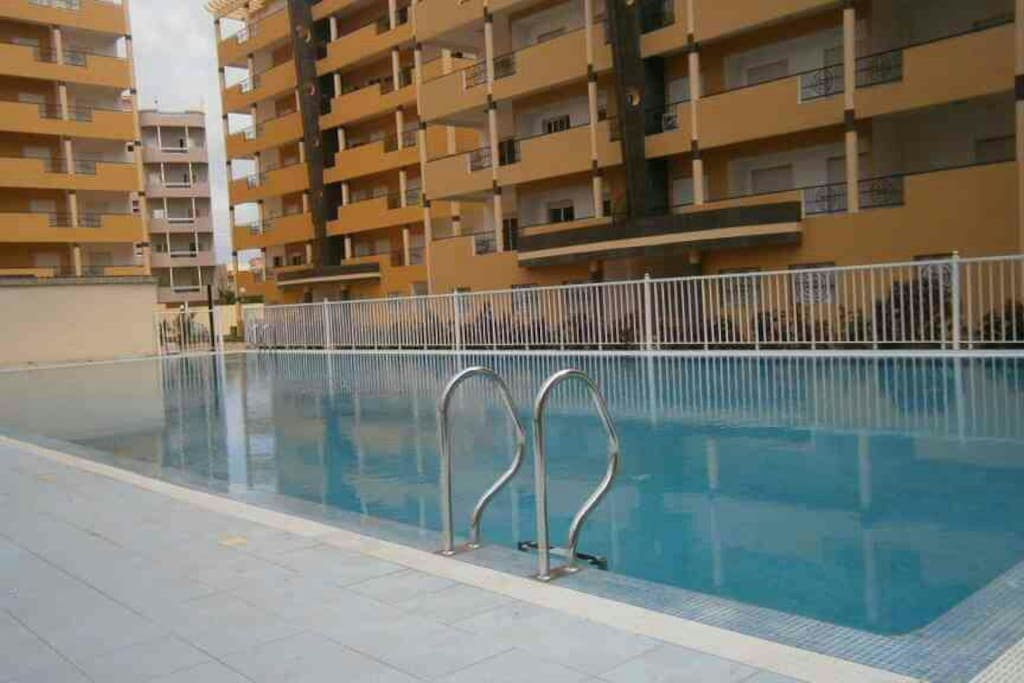 Swimming pool and children's pool available for residents.