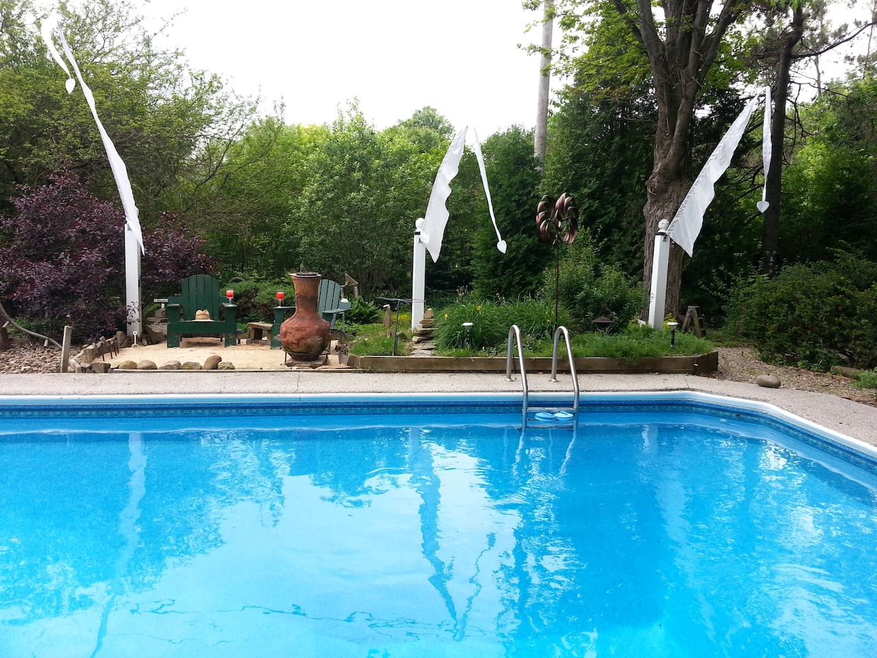 20X40 Ft. in-ground heated pool