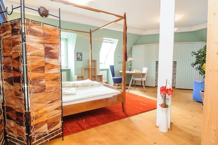 Heavenly ecological rooftop apartm. - Vienna - Loft