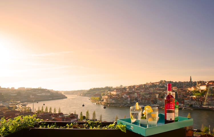 Porto River View Terrace - Vila Nova de Gaia - House