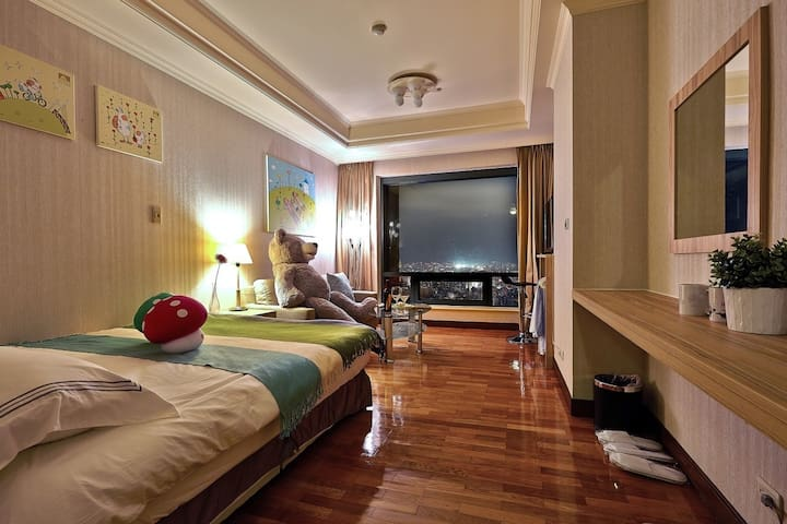 Taichung City 台中市 童趣高樓景觀 Walker Taichung 勤美商圈 - West District - Serviced flat