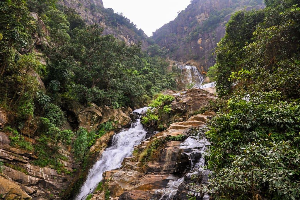 Ravana waterfall in Ella