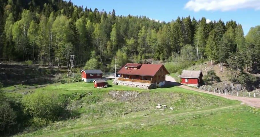 Holtan Gård - Sande - Huis