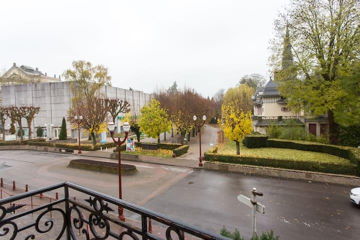Votre cure thermale à 5minutes à pied par le parc - Vosges - Apartment