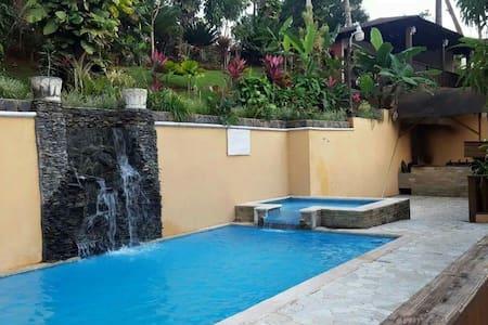 Villa completa todo lo k necesitas - Jarabacoa - Kulübe