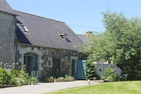 Chaleureux cottage in Breiz classe 3 étoiles