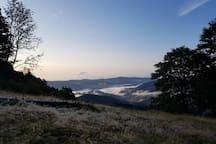Belchen am frühen Morgen