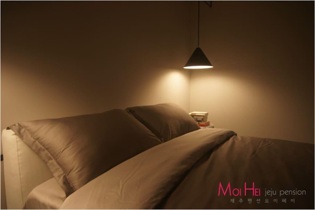모던 스타일의 인테리어(침실)