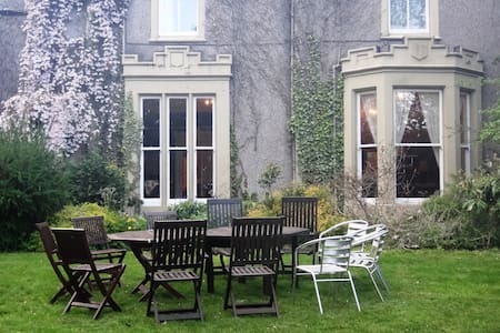 Victorian Mansion ideal for friends & families - Tillicoultry - Pousada