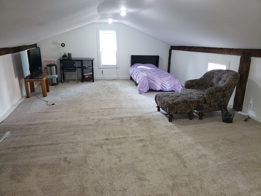 Lots of space!! Biggest room in the house!
