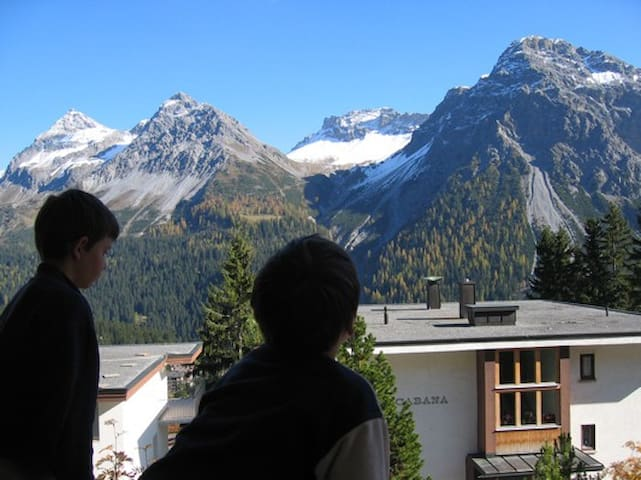 Arosa Apartment 3.5 rooms with wonderful view