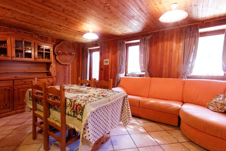 3 CAMERE TESTA GRIGIA - Champoluc - อพาร์ทเมนท์