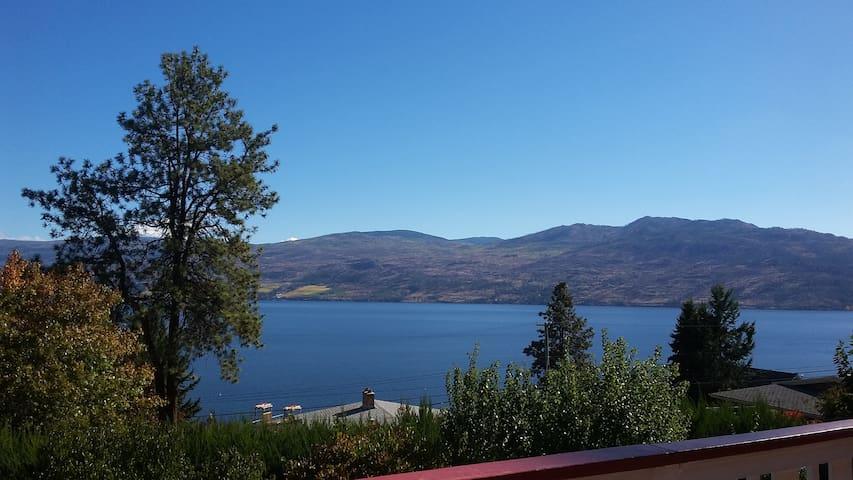 Fabulous lake views & luxury bed