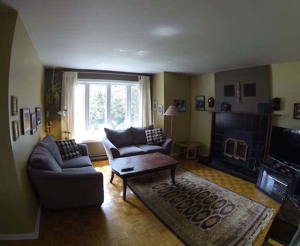 Maison Spacieuse, Tranquille, Confort