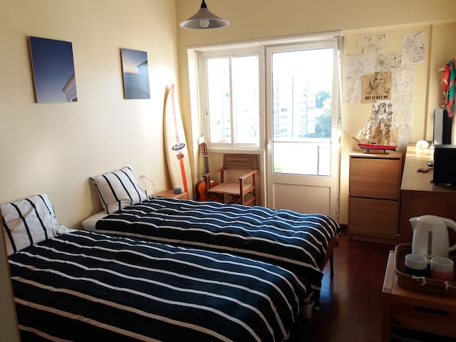 Room+priv.WC - wonderful Lisbon view- near Airport - Lisboa
