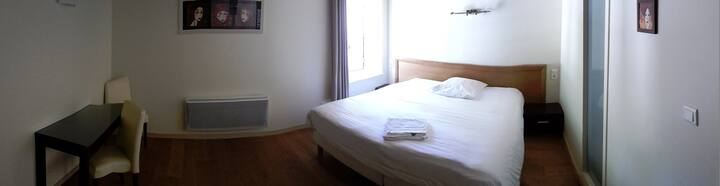 Jolie chambre à proximité de Cognac.