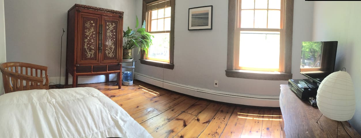 1870's 3-story house private bedroom