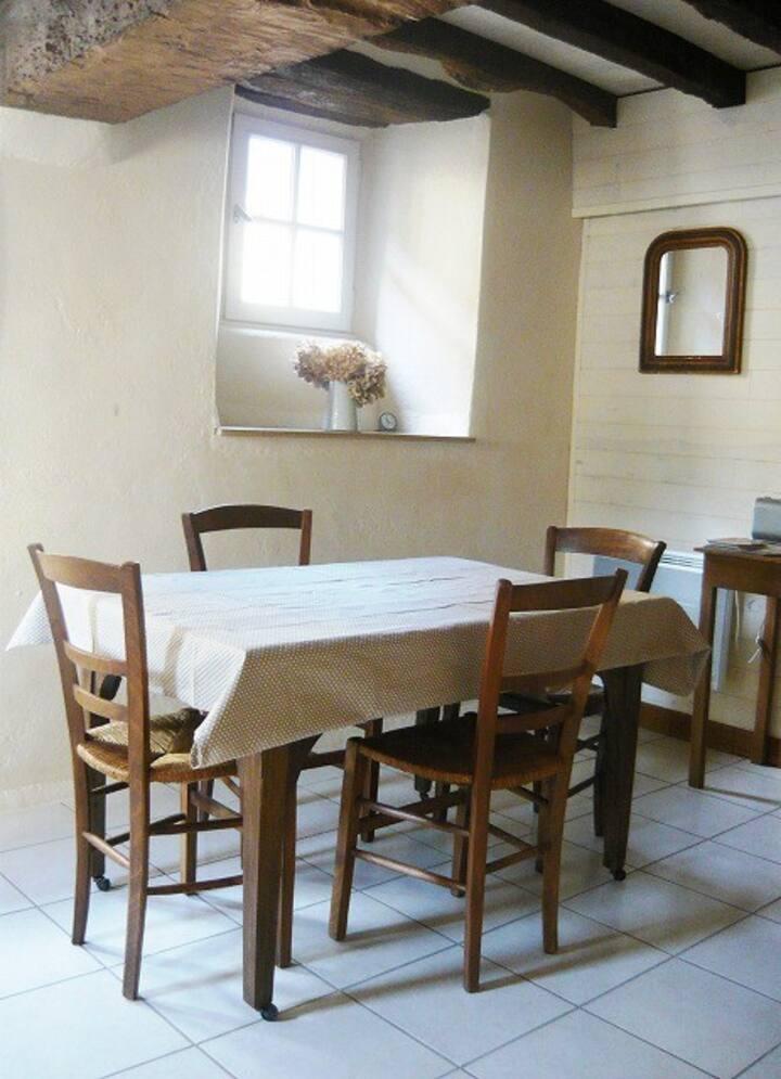 ブルターニュ地方の小さな貸し家Gite-Abeille