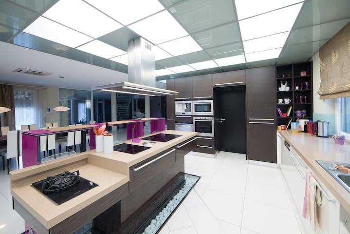 Luxury House on 1300m2 at Balaton - Balatonlelle - Villa