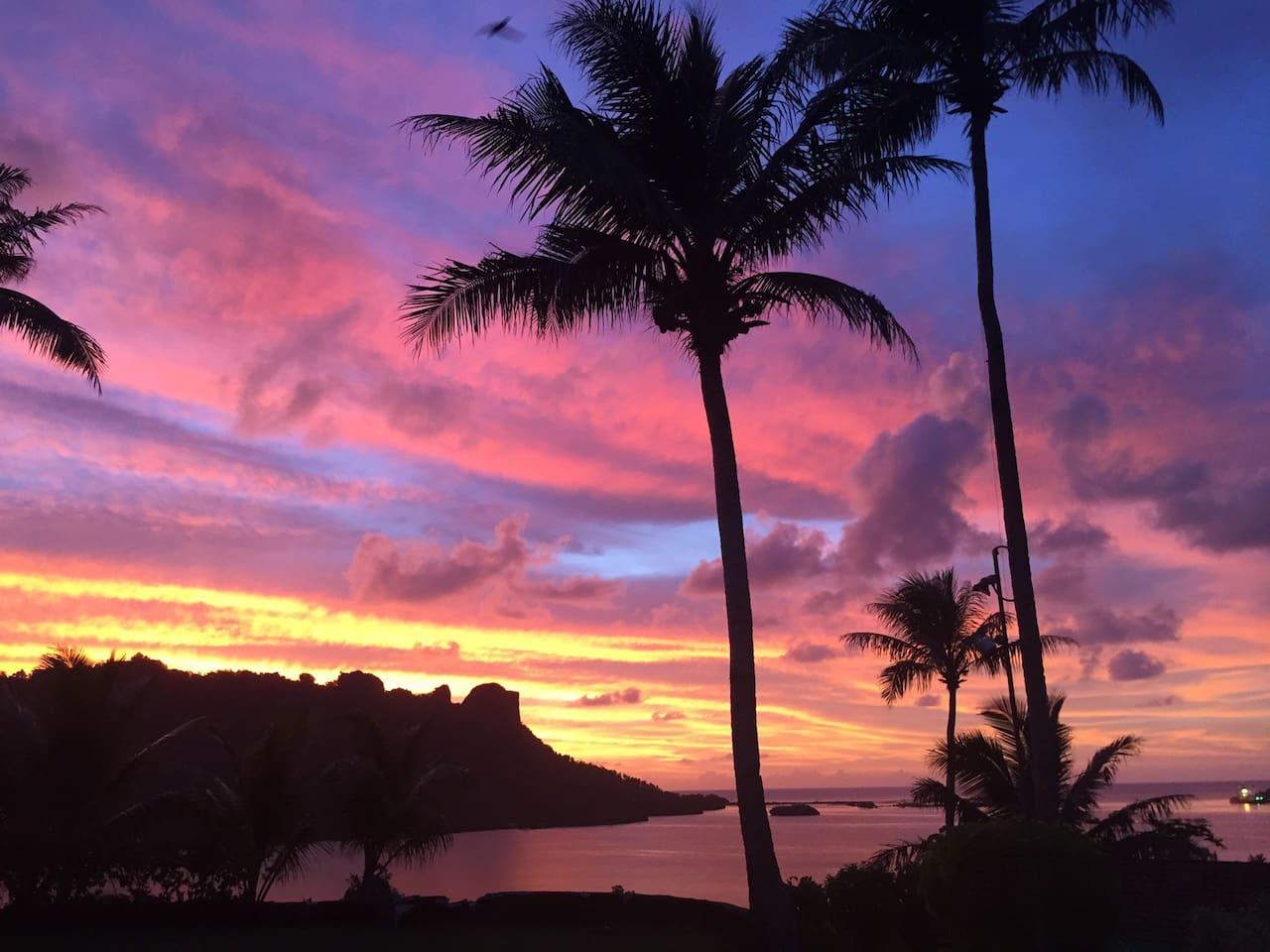 Sunset view  夕焼け