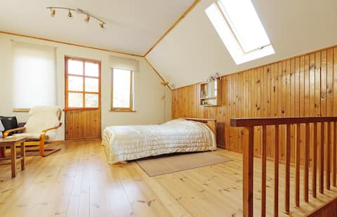 Room with seaview in Saulkrasti