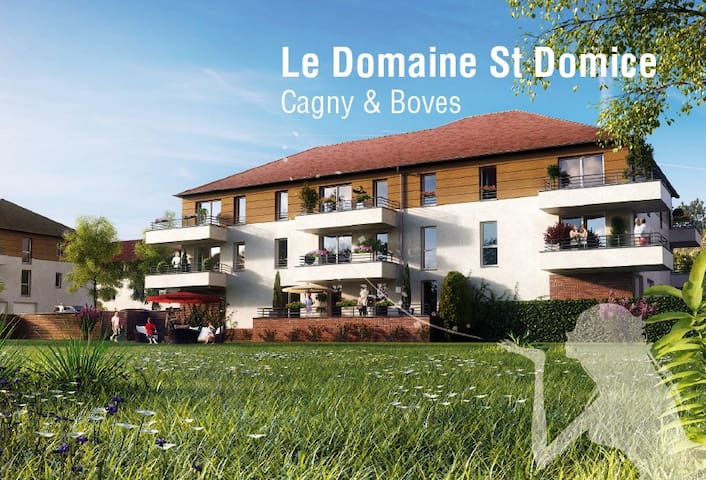 Apparatement Domaine Saint Domice - boves - Apto. en complejo residencial