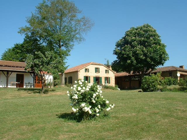 B&B in a Characterful Gersoise estate/ POOL & WIFI - Estang - Ház